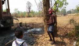 Die Hoffnung der Bauern ist groß, dass es bald mehr vom dringend benötigten Wasser zum Bewirtschaften der Felder gibt.