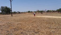 Die Region in Madhya Pradesh ist von großer Trockenheit geprägt. Seit Jahren gibt es hier kaum Niederschläge.