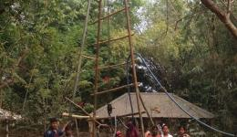 In the state of Orissa, a further well is drilled in the leprosy village of Ghudikania L.K.