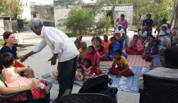 Visit to the Rohtak colony