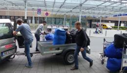 Saturday, May 9, Nuremberg airport