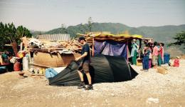 The tent camp