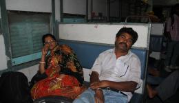 Sanju and Ramavarai getting tired.