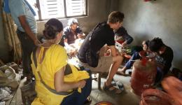 Preview: In November 2016, FriendCircle WorldHelp will build a training center for metal crafts in the village of Dalits (Bahch Pokhari) and additionally organize a sewing workshop for women.