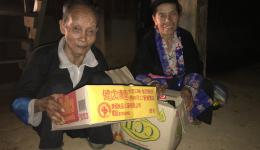 As always, special attention was paid to needy families, elderly and disabled people.