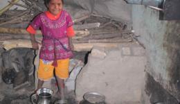 Küche in der Chota Phool Kolonie