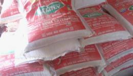 Einige Tonnen Reis und Linsen, Öl und andere Nahrungsmittel wurden für vier Leprakolonien (Ambala, Haryana, Faridabad und Rohtak) eingekauft und gespendet. Die behinderten Menschen waren wieder zutiefst berührt über die Unterstützung, Danke!!!