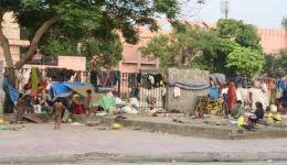In Delhi - Leben am Straßenrand