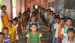 Ein Foto von der Schule, welche nun auch unsere Kinder aus der Chakia Kolonie besuchen...