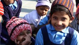 Wir hoffen, dass diese Bilder etwas von der Freude der Kinder wiedergeben.