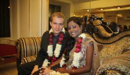01.12. - Sebastian und Geeta - ein glückliches Paar