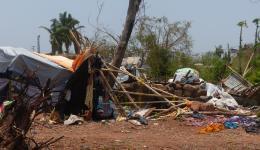 """Der Zyklon """"Fani"""" zerstörte für viele Menschen das wenige, das sie hatten."""