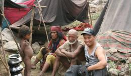 Mingmar had met the nomad people already a few months ago.