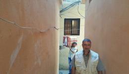 Das Paket mit dem Sauerstoffkonzentrator ist heil im Libanon angekommen und unser Freund Ahmed hat es zu dem jungen Mann gebracht, der es nachts dringend benötigt!