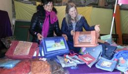 Market in Mürsbach. Sales in favor of FriendCircle WorldHelp.