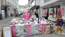 Sales stand in Bad Kreuznach