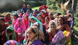 These women had been waiting for a long time for the chance of earning some money by homework.
