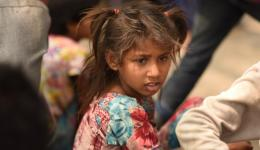 India has an estimated 11-18 million children who spend their lives on the street with parents or alone with friends.