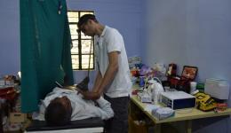 Hier werden Ultraschalluntersuchungen durchgeführt, Infusionen verabreicht und kleinere operative Eingriffe durchgeführt…