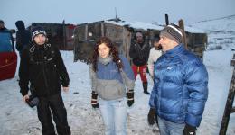 Alex, Laura and Razvan.