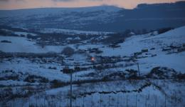 View of the settlement from the other side of the valley. Thanks to all helpers !!!