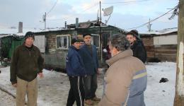Discussion with the village heads on the living situation and what is most urgently needed.