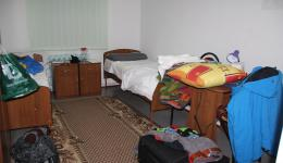 Arrival in Moldova. 14 hours travel time with breaks for 580 km. Here is a photo of the accommodation in Calarasi.