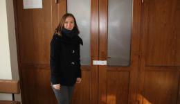 Jan. 7, 2015 - Meeting at the Town Hall in Calarasi. Cristina and Nicolai, the mayor, welcome us. The storeroom had been closed and sealed ...