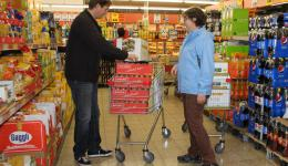 Dec. 23, 2014 - Shopping of missing items for the last packages.