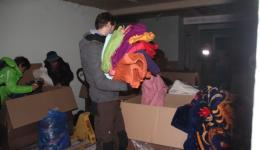 Fortunately we received many many covers which are urgently needed on Romania's roads and in the leaky huts.