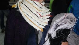 Thanks for the wonderful shawl...