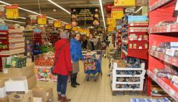 Continously we are buying packages with basic foods in some supermarket.