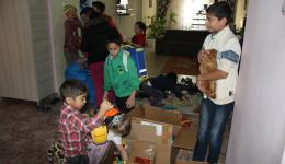 THANKS to all children at home who donated their things for the Romanian children.