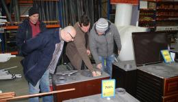 Together with Cosmin and Emil we discuss which type is stove is most suitable.