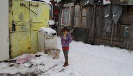 About 500 children are living here with their families under most difficult conditions.