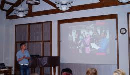 Januar 2015. Thomas, Alexandra und Frank berichten über den FriendCircle WorldHelp und die Tour im November 2015.
