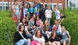 Am 19. Juni war Alexandra zu Besuch im Clara Schumann Gymnasium in Holzwickede bei Dortmund.