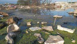 Durch die Verseuchung der Gewässer ist die Chance der Verbreitung von Krankheiten sehr hoch.