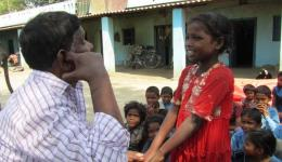 In this remote area it had so far not been possible for the children of the leprosy villages to go to school. FriendCircle Worldhelp made it possible by talking to the principal ...