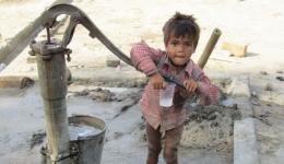 Der Brunnen für Trinkwasser.