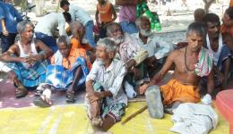 Many leprosy sufferers are seriously handicapped and cannot work or due to their stigmatization find no work.