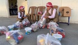 This school supports Yezidi children who could escape the captivity of the IS.