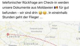 Mangels Flügen ab Nürnberg, Frankfurt oder München erfolgt die Anreise diesmal über Prag.