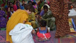 Alle Spenden des FriendCircle WorldHelp sind sehr kostbar, denn durch Betteln erhalten die Menschen nur sehr wenig.