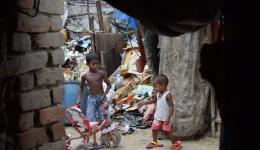 Leben auf der Müllhalde.