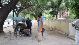 FriendCircle WorldHelp has been supporting for years leprosy sufferers on the streets of India.