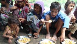 Es ist eine Freude den Kindern beim Essen zuzusehen.