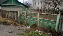 Farm gate in Calarasi.