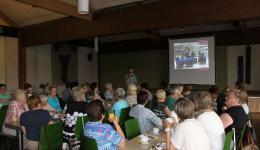 Vortrag von Jürgen, organisiert vom Katholischen Frauenkreis in Knetzgau.