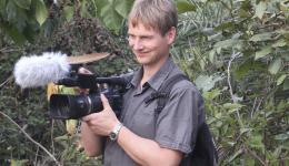Jürgen Lütke-Wenning, entrepreneur, public relations, cameraman